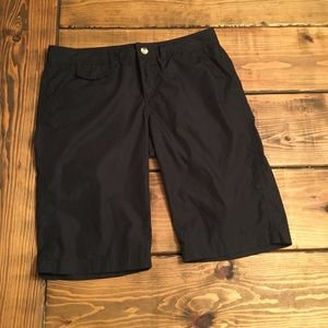 Columbia Black Utility Shorts